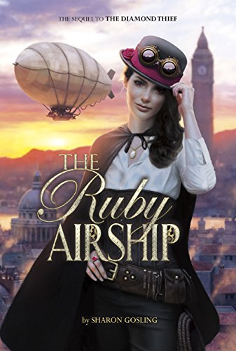 The Ruby Airship by Sharon Gosling | books, reading, book covers, cover love, jewels