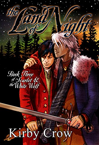 The Land of Night by Kirby Crow | reading, books, books covers, cover love, snow
