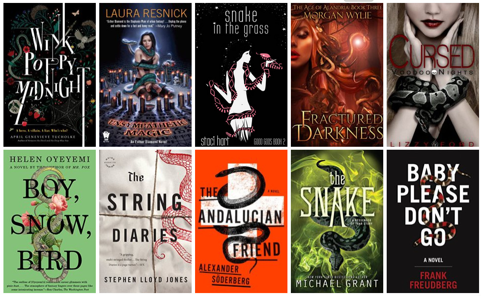 Book Covers featuring Snakes   books, reading, book covers, cover love, snakes