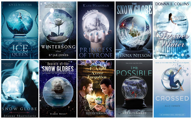 Book Covers featuring Snow Globes | reading, books, book coveres, cover love, snow globes
