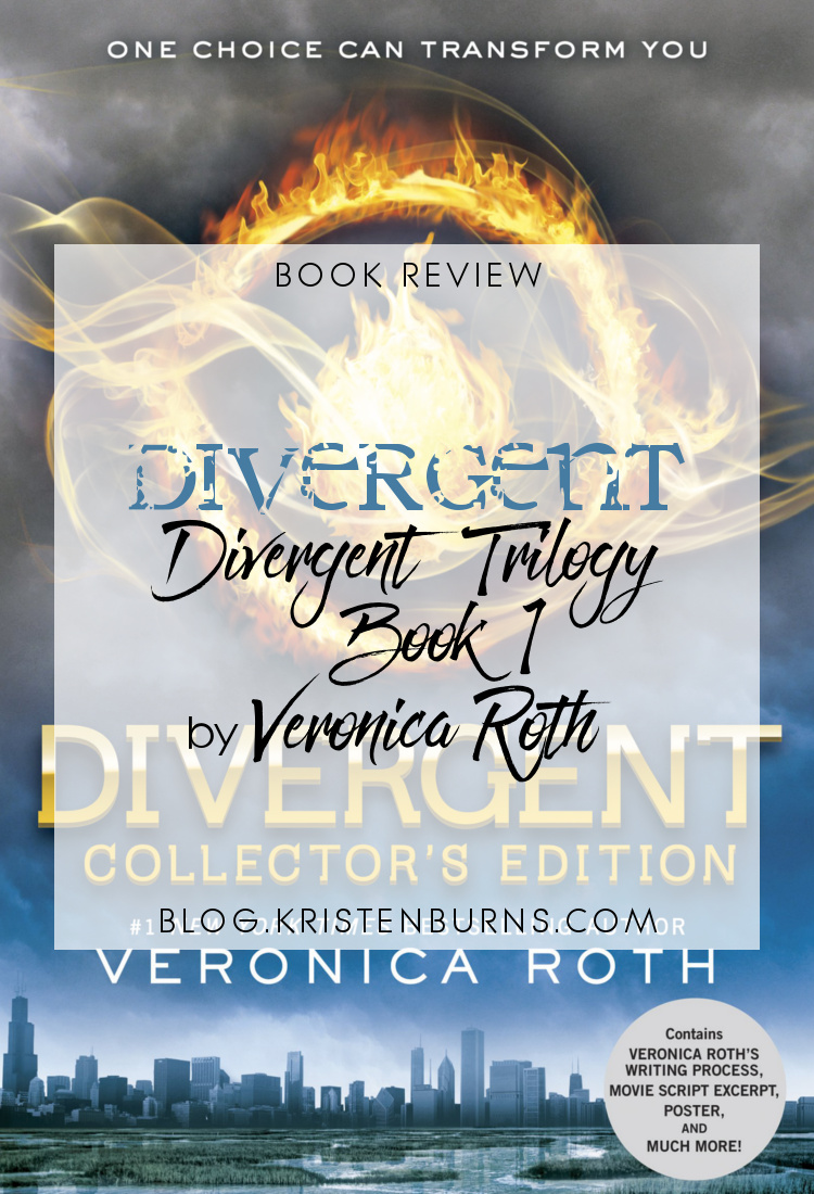 2 Star Book Review: Divergent (Divergent Trilogy Book 1) by Veronica Roth | books, book reviews, sci-fi, dystopian, YA