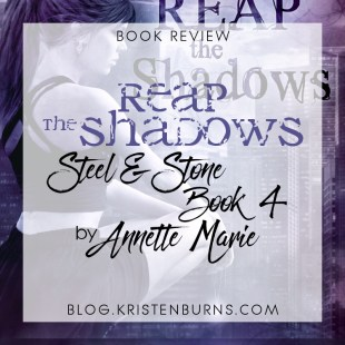 Book Review: Reap the Shadows (Steel & Stone Book 4) by Annette Marie