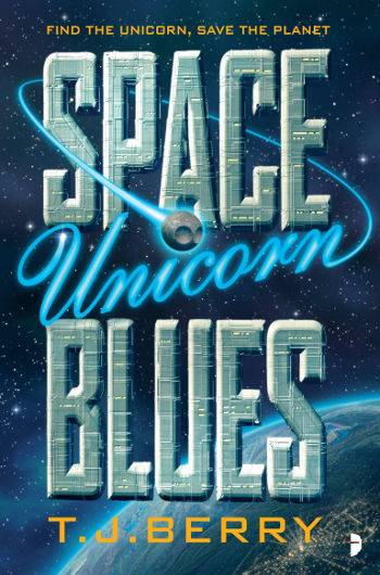 Book Review: Space Unicorn Blues by T.J. Berry | reading, books. book reviews, science fiction