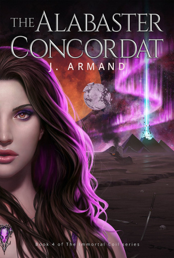Book Review: The Alabaster Concordat (The Immortal Coil Book 4) by J. Armand | reading, books, book reviews, fantasy, urban fantasy, lgbt, vampires, telepaths, gods