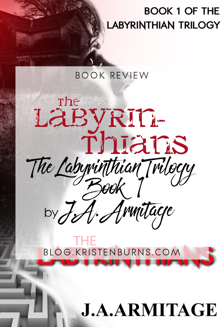 Book Review: The Labyrinthians (The Labyrinthian Trilogy Book 1) by J.A. Armitage | books, reading, book covers, book reviews, action & adventure, horror, suspense, young adult