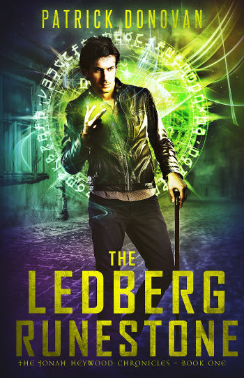 Book Review: The Ledberg Runestone (The Jonah Heywood Chronicles Book 1) by Patrick Donovan   reading, books, book reviews, paranormal/urban fantasy