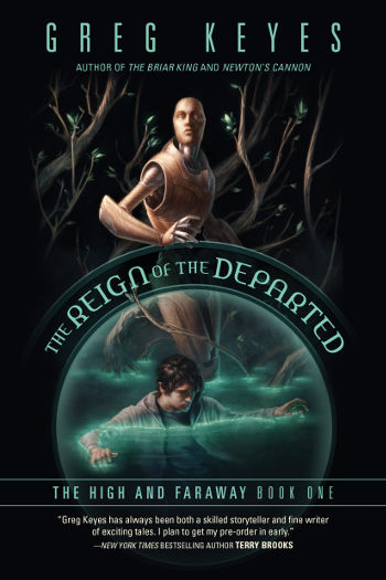 Book Review: The Reign of the Departed (The High and Faraway Book 1) by Greg Keyes | reading, books, book reviews, epic fantasy, paranormal/urban fantasy