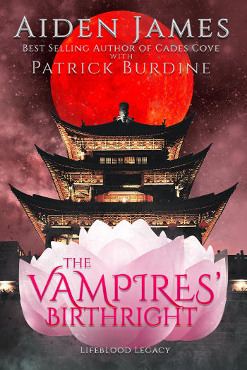 Book Review: The Vampires' Birthright (Lifeblood Legacy Book 2) by Aiden James & Patrick Burdine | reading, books, fantasy, paranormal/urban fantasy, new adult, vampires