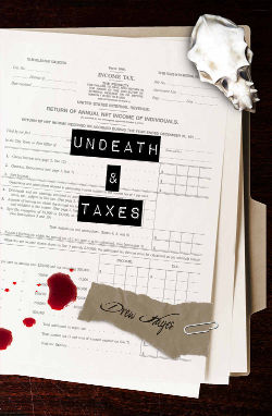 Mini Review: Undeath & Taxes (Fred, The Vampire Accountant Book 2) by Drew Hayes | reading, books, urban fantasy
