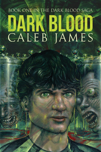 Book Review: Dark Blood (Dark Blood Saga Book 1) by Caleb James   reading, books, book reviews, fantasy, urban fantasy, thriller, lgbt