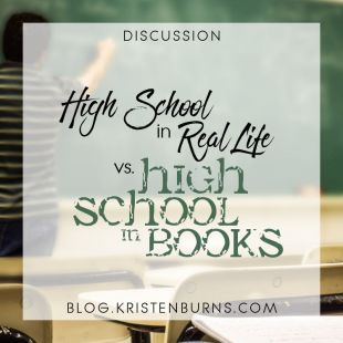 Bookish Musings: High School in Real Life vs. High School in Books