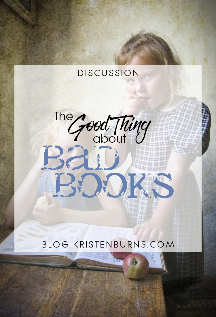 Discussion: The Good Thing about Bad Books   books, reading, discussions