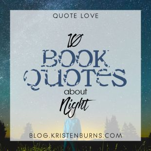 Bookish Musings: 10 Book Quotes about Night