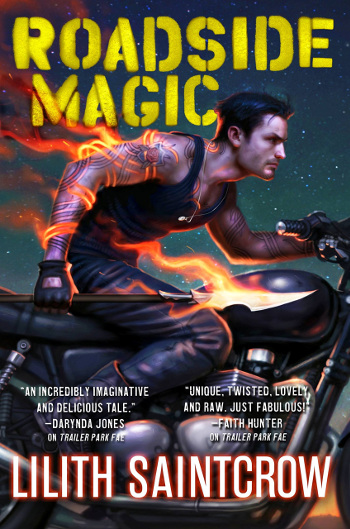Book Review: Roadside Magic (Gallow and Ragged Book 2) by Lilith Saintcrow | reading, books, book reviews, fantasy, urban fantasy, faeries