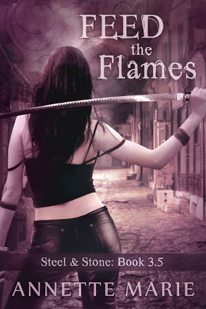 Short Story Review: Feed the Flames (Steel & Stone Book 3.5) by Annette Marie | reading, short story reviews, fantasy, paranormal/urban fantasy, young adult