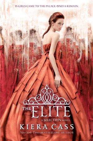 2.5 Star Book Review: The Elite (The Selection Book 2) by Kiera Cass | reading, books, book reviews, sci-fi, dystopian, YA, YA romance