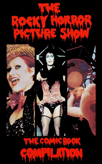 Graphic Novel Review: The Rocky Horror Picture Show: The Comic Book by Kevin VanHook | reading, books, book reviews, graphic novel