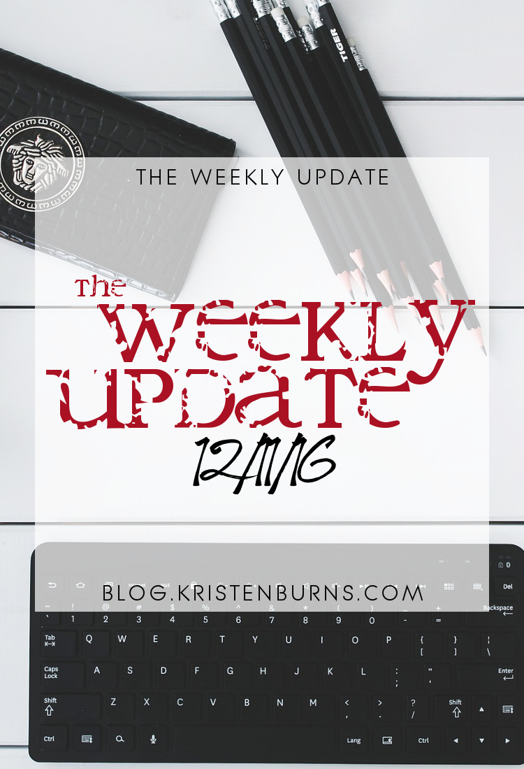The Weekly Update: 12/11/16