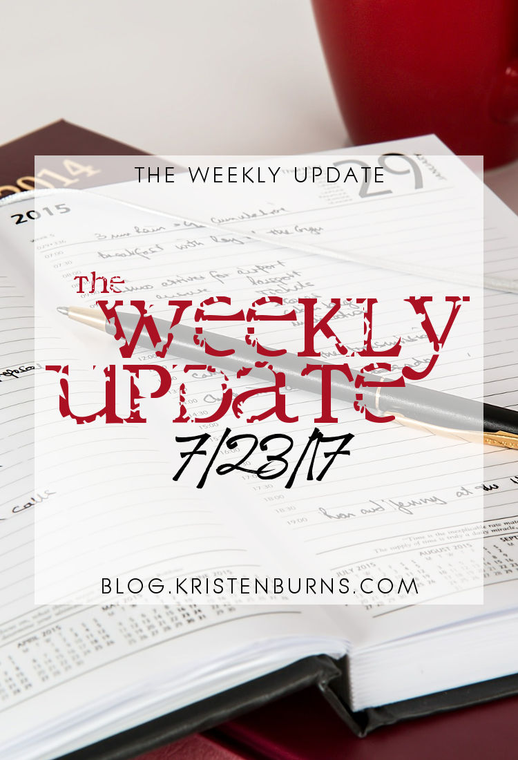 The Weekly Update: 7-23-17