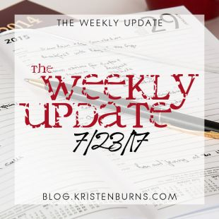 The Weekly Update: 7/23/17