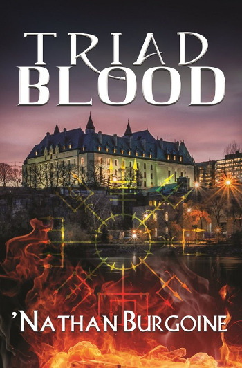 Book Review: Triad Blood by 'Nathan Burgoine | reading, books, book reviews, fantasy, urban fantasy, lgbt, m/m, vampires, incubi, wizards