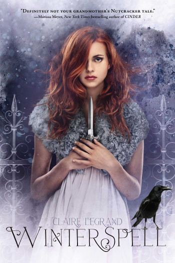 Book Review: Winterspell by Claire Legrand | books, reading, book covers, book reviews, fantasy, fairy tales & folklore, retellings, The Nutcracker retellings, holidays, Christmas, sci-fi, steampunk, faeries, mancers/mages