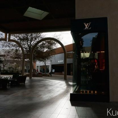쇼핑센터의 풍경.