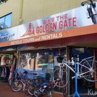 우리가 자전거를 빌린 곳.