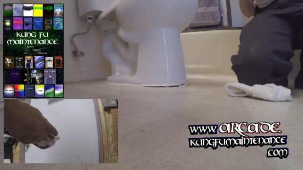 Irregular Gap Causing Toilet Rocks