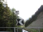 Nur noch 47 Kehren bis zum Ende der Passstrasse des Stilfser Jochs