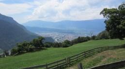 Blick auf Bolzano