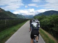 Radschnellweg Meran nach Bozen