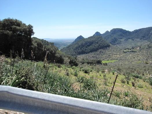 Blick auf Palma und Bunyola
