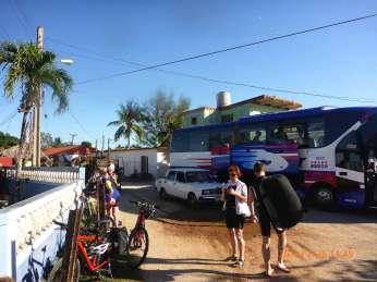 Abfahrt in Playa Larga