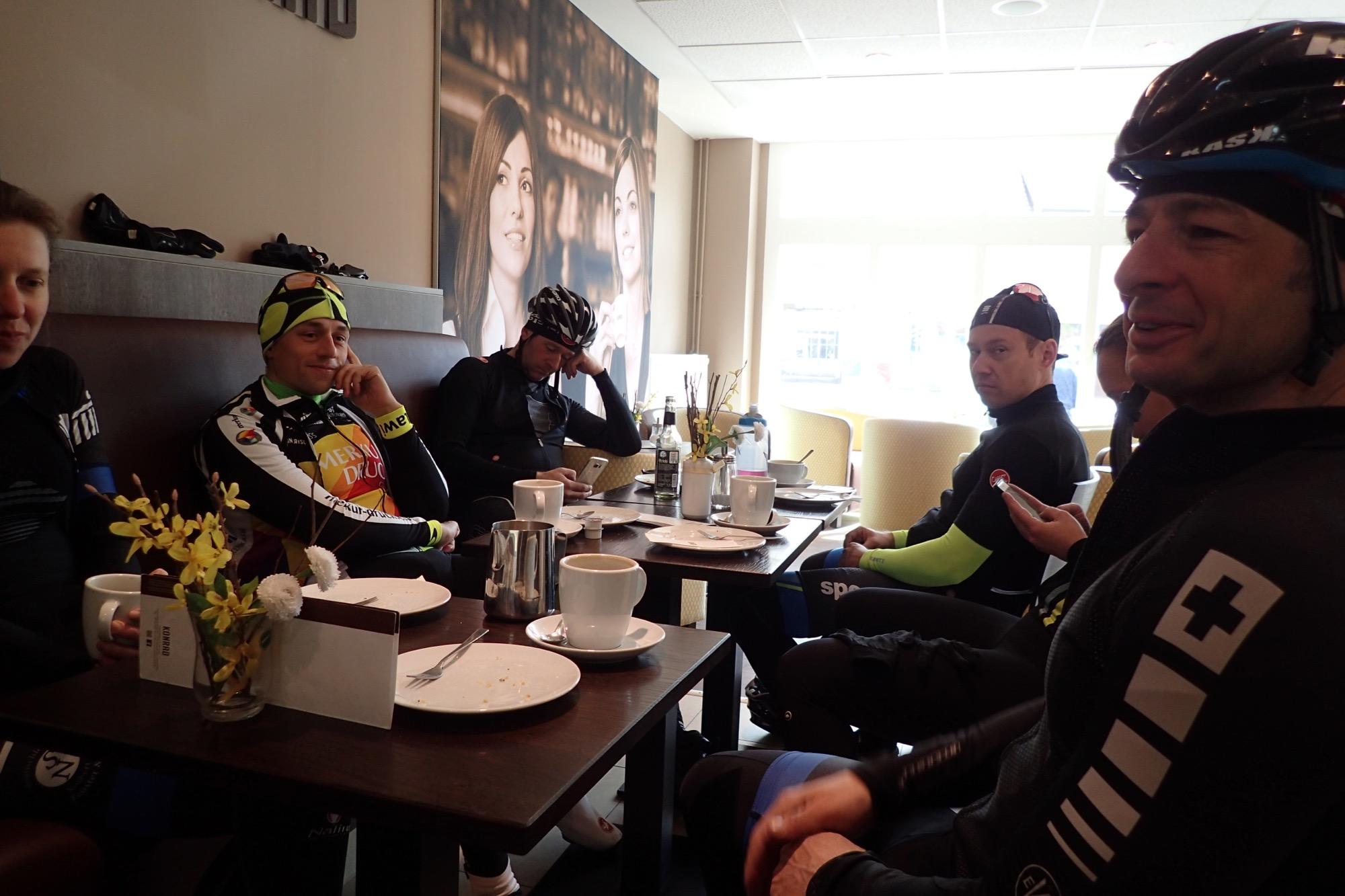 Kaffee und Kuchen bei Conrad in Trebbin