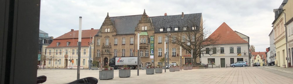 Blick auf Downtown Eberswalde