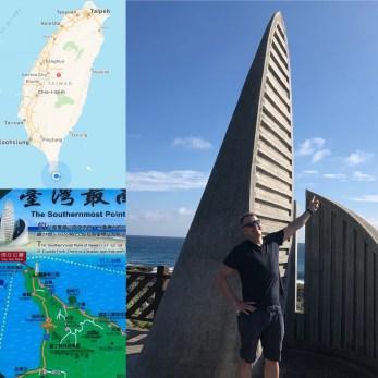 am südlichsten Punkt von Taiwan