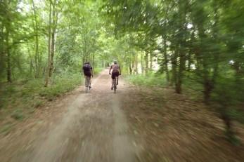 die letzten Kilometer bei Teltow