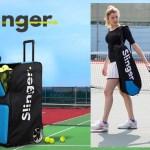 テニスのボールマシン(球出し機)「スリンガー T-Oneランチャー(Slinger T-One Launcher)」が届きました