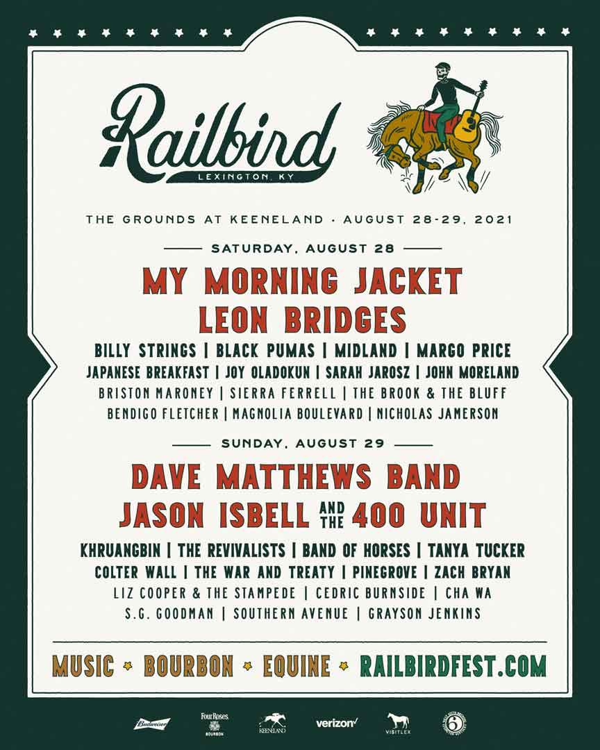 $20 registration ends october 23, 2021 at 11:59pm edt. Railbird Festival 2021 Returns to Lexington, KY - KY Supply Co