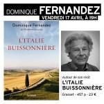 Rencontre avec Dominique Fernandez