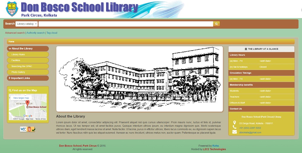 Don Bosco School, Park Circus partners with L2C2 Technologies to take their library catalogue online