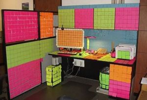 bureau post it