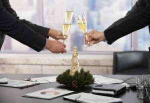 Business people raising toast over meeting table with Christmas decoration at office. Focus placed on flutes in front. Click here for more Business images:    [url=my_lightbox_contents.php?lightboxID=1500413][img]http://www.nitorphoto.com/istocklightbox/businesspeople.jpg[/img][/url]    [url=my_lightbox_contents.php?lightboxID=3209528][img]http://www.nitorphoto.com/istocklightbox/beigebusiness.jpg[/img][/url]    [url=my_lightbox_contents.php?lightboxID=1708462][img]http://www.nitorphoto.com/istocklightbox/womeninbusiness.jpg[/img][/url]    [url=my_lightbox_contents.php?lightboxID=4993174][img]http://www.nitorphoto.com/istocklightbox/isolatedbusiness.jpg[/img][/url] [url=my_lightbox_contents.php?lightboxID=7210431][img]http://www.nitorphoto.com/istocklightbox/winter.jpg[/img][/url] [url=my_lightbox_contents.php?lightboxID=6990900][img]http://www.nitorphoto.com/istocklightbox/handsfeet.jpg[/img][/url]