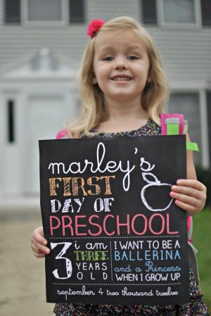first day of school picture 3