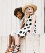 Rylee and Cru Dots Button Back Dress 2