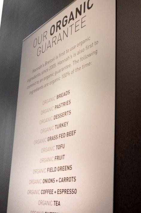 organic guarantee