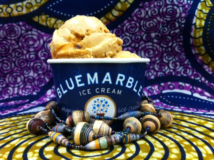 Rwandan coffee ice cream