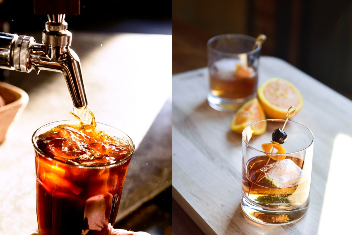 Cold Brew two drinks