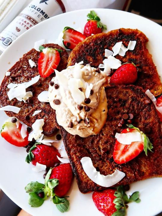 Coconut Mocha French Toast